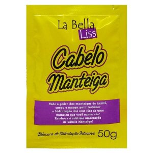 La Bella Liss Cabelo Manteiga Hidratação Máscara 50g