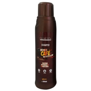 Glatten Bomba de Café Estimulante Capilar Shampoo 300ml