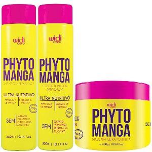 Widi Care PhytoManga Ultra Nutritivo kit com Máscara 300g (3 itens)
