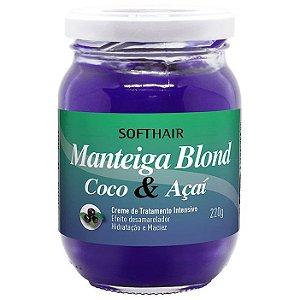 Softhair Manteiga de Coco e Açai 220g