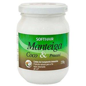 Softhair Manteiga de Coco e Pracaxi 220g