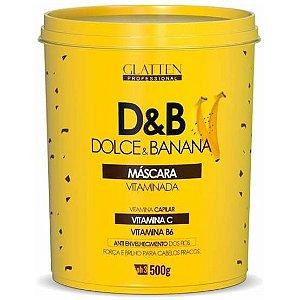 Glatten Dolce & Banana Vitaminada Máscara 500g