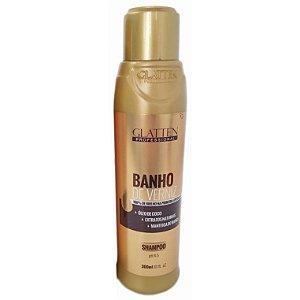 Glatten Banho de Verniz Shampoo 300ml