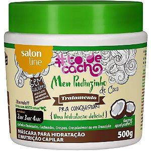 Salon Line #To De Cacho Meu Pudinzinho de Coco Máscara 500g