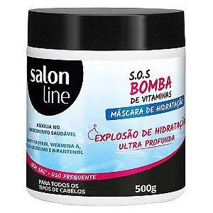 Salon Line SOS Bomba Explosão de Hidratação Profunda Máscara 500g