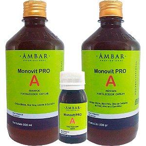 Âmbar Monovit Pro A Kit (3 itens)