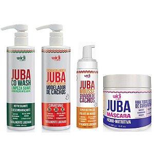 Widi Care Juba kit Cachos (4 itens)