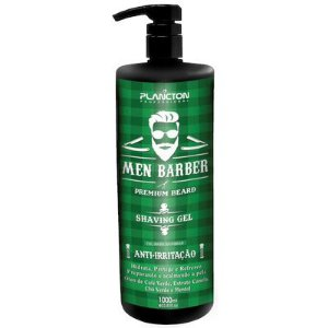 Plancton Men Barber Shaving Gel para Barbear 1000ml