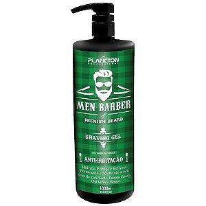 Plancton Men Barber Shaving Gel para Barbear 1000ml