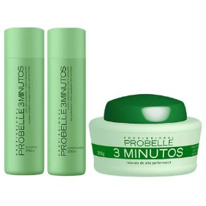 Probelle 3 minutos kit 3x250g/ml