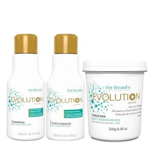 For Beauty Evolution Kit (3 itens)