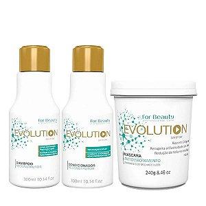 For Beauty Evolution Kit (3 itens)