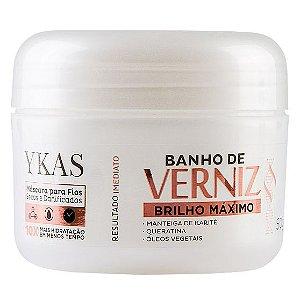 Ykas Banho de Verniz Brilho Máximo Máscara 50g