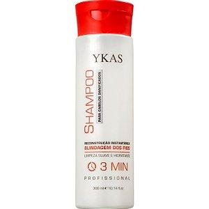 Ykas 3 minutos Recontrução Shampoo 300ml