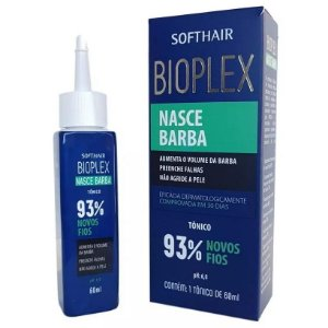SoftHair Bioplex Nasce Barba Tônico 60ml