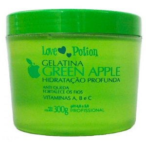 Love Potion Gelatina Hidratante Green Apple 300g