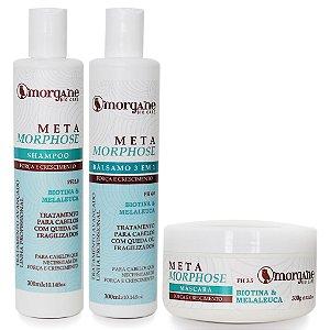 Morgane Metamorphose Kit Força e Crescimento (3 Itens)