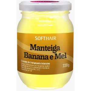 Softhair Manteiga de Banana e Mel 220g