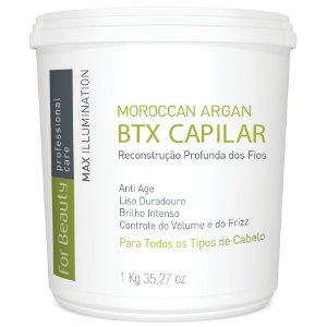 For Beauty Moroccan Argan Btx Capilar 1kg
