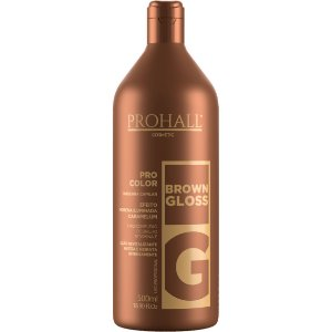 Prohall Máscara Matizadora Brown Gloss 500ml