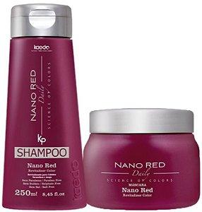 Kaedo Nano Red Shampoo e Máscara