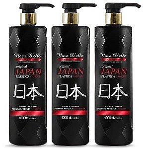 Nova D'Elle Plástica Capilar Japonesa 3x1000ml