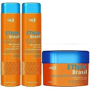 Widi Care Etnik Brasil Manutenção Home Care (3x300ml/g)