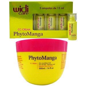 Widi Care CC Cream PhytoManga (5 Ampolas e 1 Máscara)