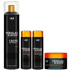 Widi Care Pérolas de Caviar Extract com Manutenção (4 itens)