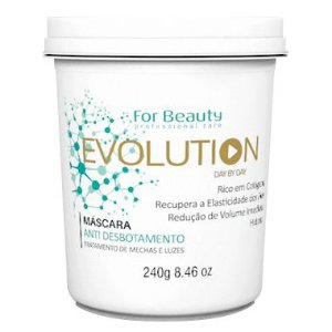 For Beauty Evolution Máscara Anti Desbotamento 240g