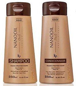 Kaedo Nano Protection Shampoo e Condicionador de Hidratação Profunda 250ml