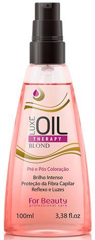 For Beauty Luxe Oil Pré e Pós Colocaração 100ml