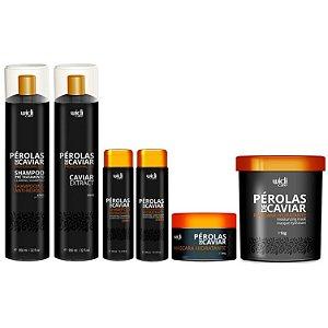 Widi Care Pérolas de Caviar Progressiva com Manutenção e Máscara  (6 itens)