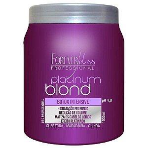 Forever Liss Platinum Blond Intensive Matizador Redutor de Volume 1kg