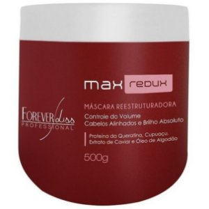 Forever Liss Max Redux Máscara Redutora de Volume 500g