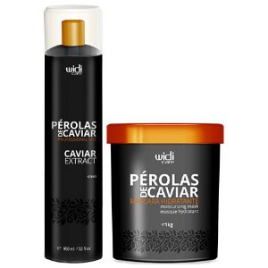 Widi Care Pérolas de Caviar Extract com Máscara (2 itens)