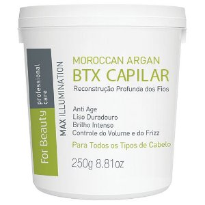 For Beauty Moroccan Argan Btx Capilar 250g