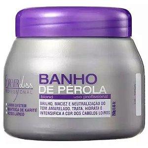Forever Liss Banho de Pérola Loiro Brilhante Máscara 250g