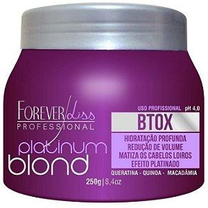 Forever Liss Platinum Blond Intensive Matizador Redutor de Volume 250g