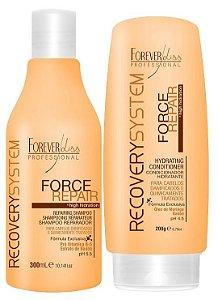 Forever Liss Force Repair Kit Shampoo e Condicionador (2 itens)