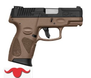 PISTOLA G2C COLORS - 9 MM COR BROWN