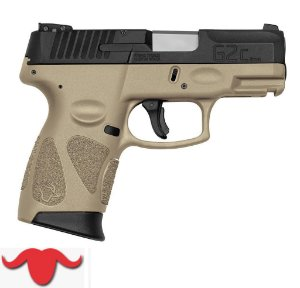 PISTOLA G2C COLORS - 9 MM COR TAN
