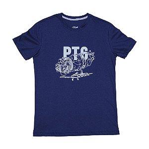 Camiseta PT6 - Azul Escuro