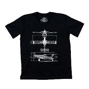 Camiseta AirTractor - Black Edition