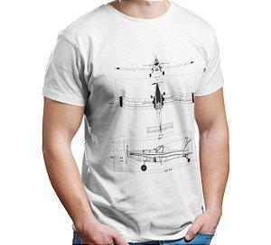 Camiseta AirTractor - Branca