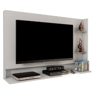 Painel Para TV Até 42 Polegadas Link Branco - Caemmun