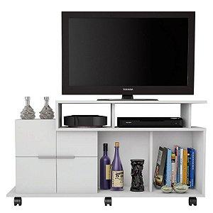 Rack Para TV Até 40 Polegadas Sena Branco - Caemmun