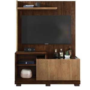 Estante Home Theater Para TV 55 Polegadas Sofine Havana / Buriti