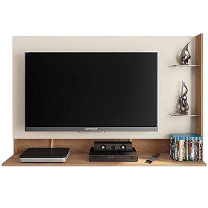 Painel Para TV Até 42 Polegadas Link Off White / Buriti - Caemmun