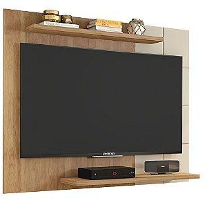 Painel Para TV Até 58 Polegadas Cross Buriti / Off White-Caemmun